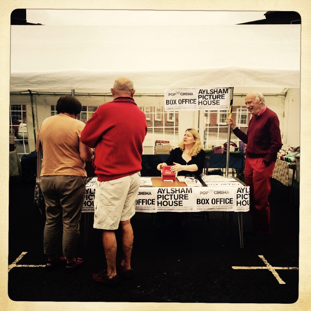 Box Office pops up at Farmers' Market