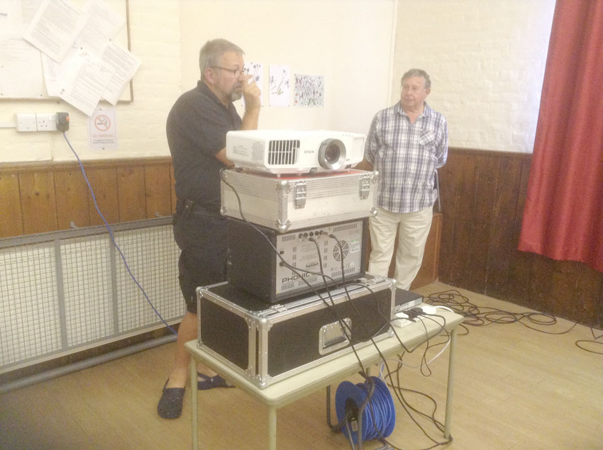 Technical team all set for Opening Night