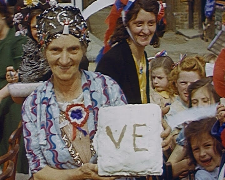 VE Day film from the archives